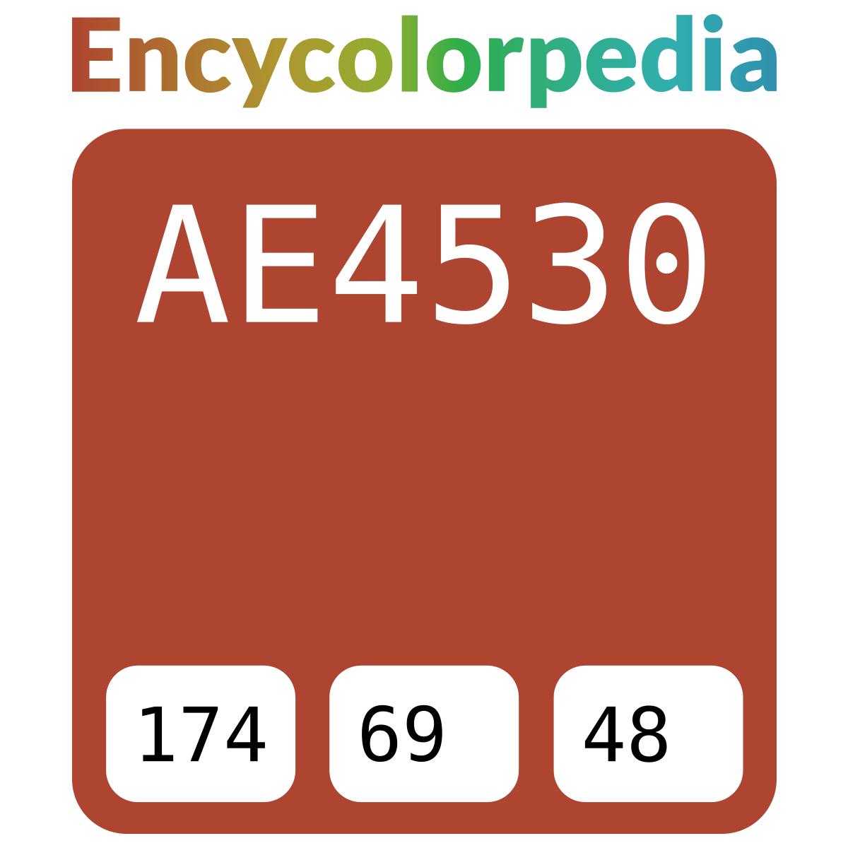 Dulux Australia Red Terra A85 Ae4530 Hex Color Code