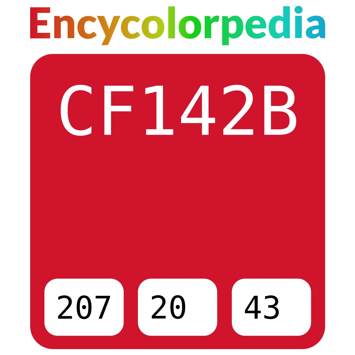 Stop red / Pantone / PMS 186 / #cf142b Hex Color Code
