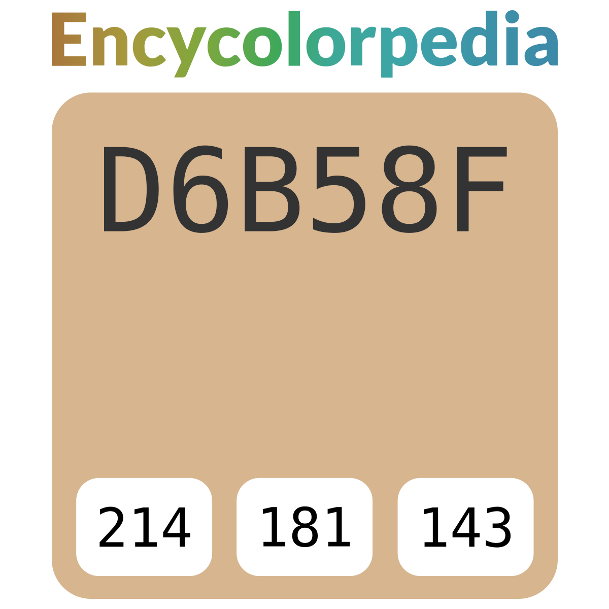 General Paint Vertri Clc 1244d D6b58f Hex Color Code Schemes