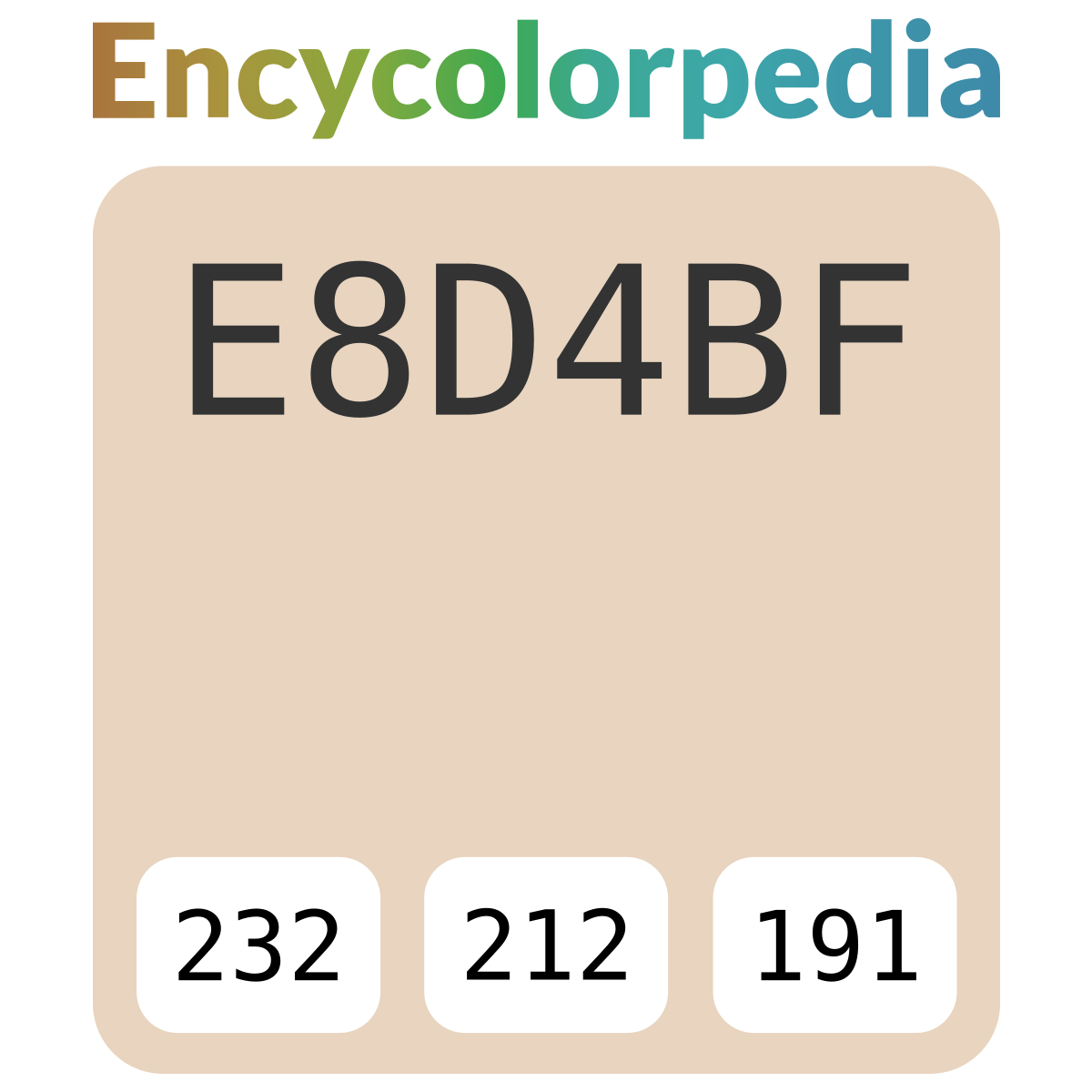 Pantone / PMS 4685 / #e8d4bf Hex Color Code Schemes & Paints